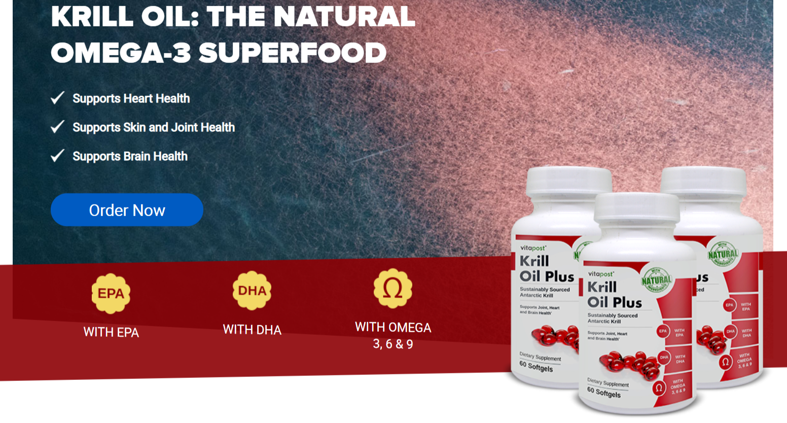 Krill Oil Plus By Vitapost