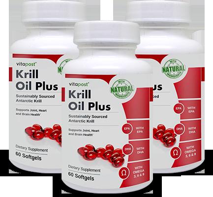 Vitapost Krill Oil Plus