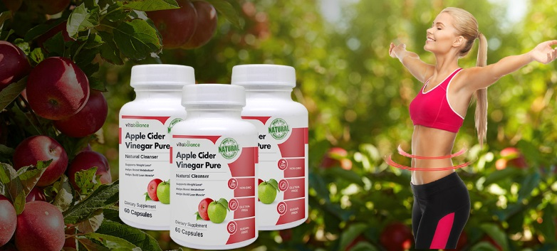 Apple Cider Vinegar Pure Ingredients Label