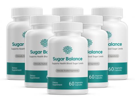 Sugar Balance Ingredients Label