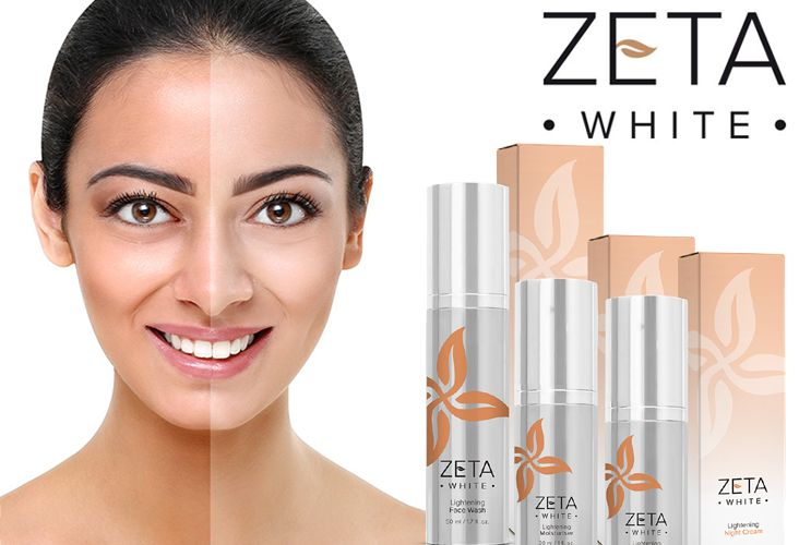 Zeta White Ingredients Label